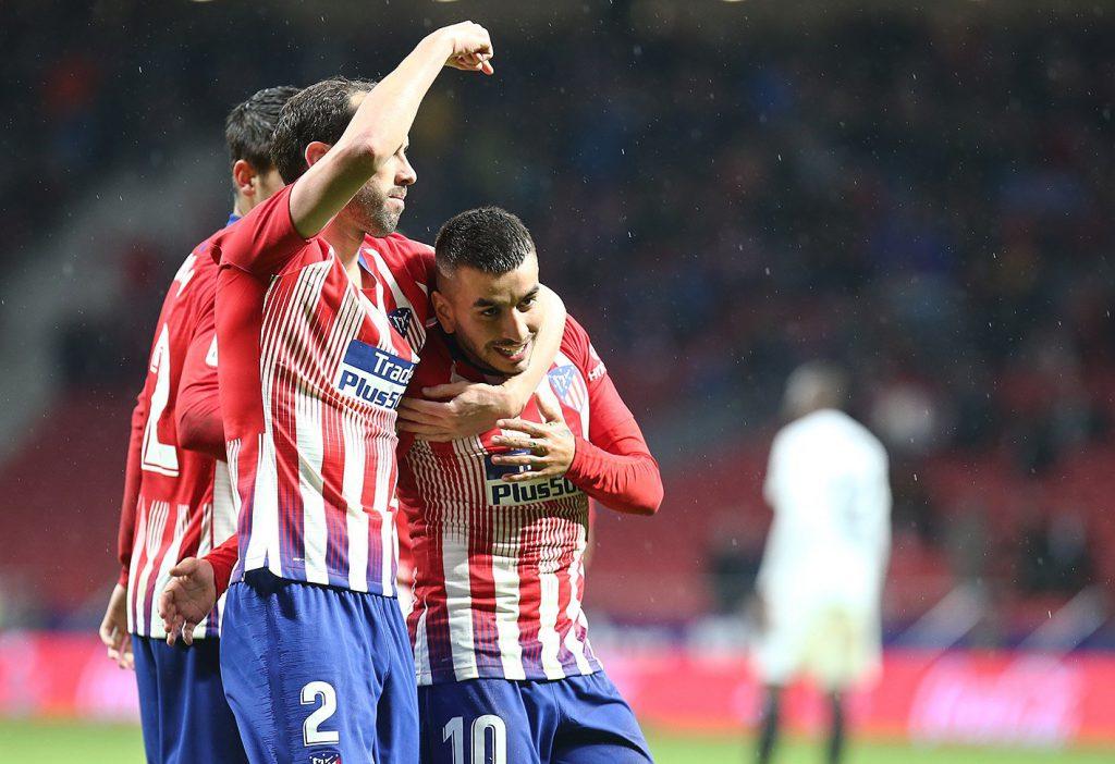 Ángel Correa marcó para Atlético de Madrid