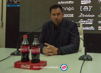 Diego Dabove habló tras el triunfo de Argentinos Juniors