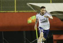 Argentina entrenó en Vitória