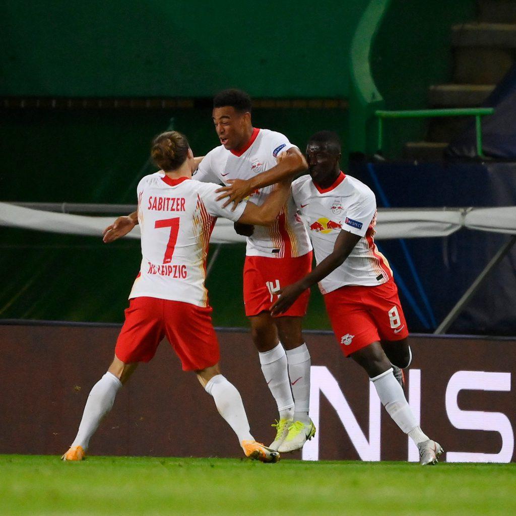 Leipzig eliminó a Atlético de Madrid