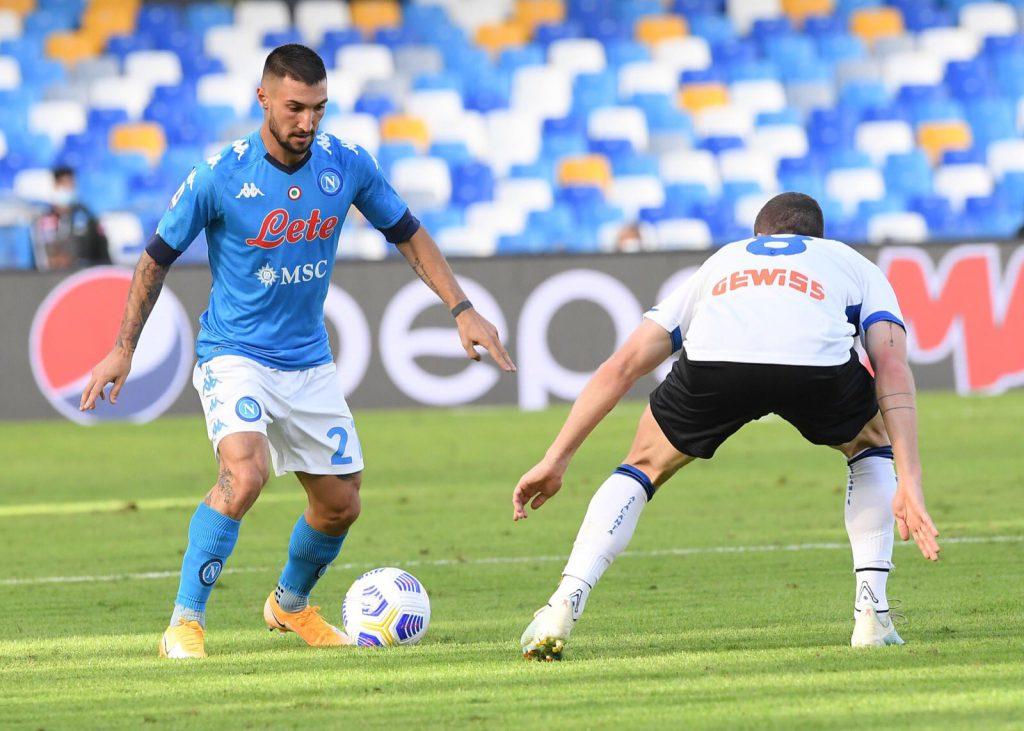 Napoli goleó a Atalanta
