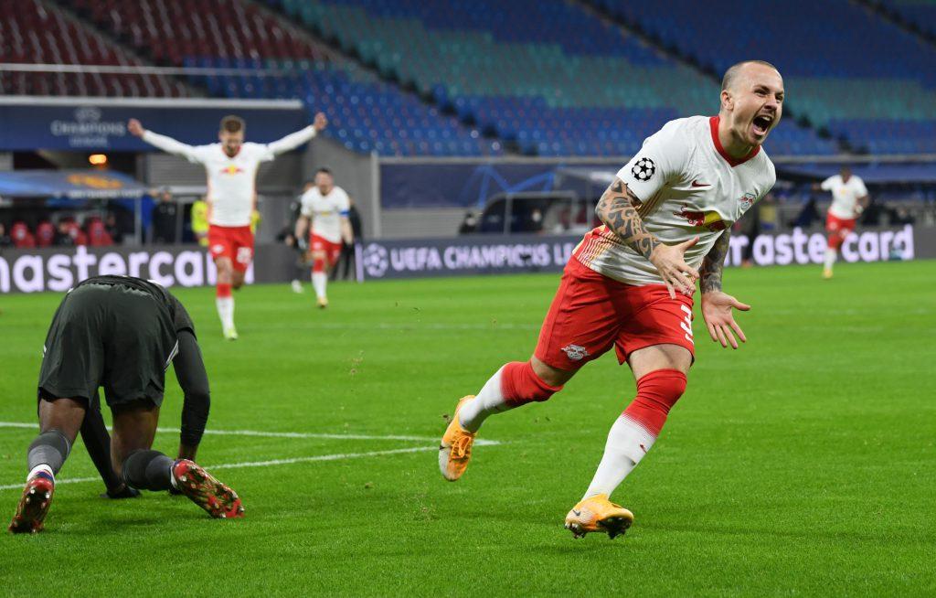 Leipzig venció a Manchester United