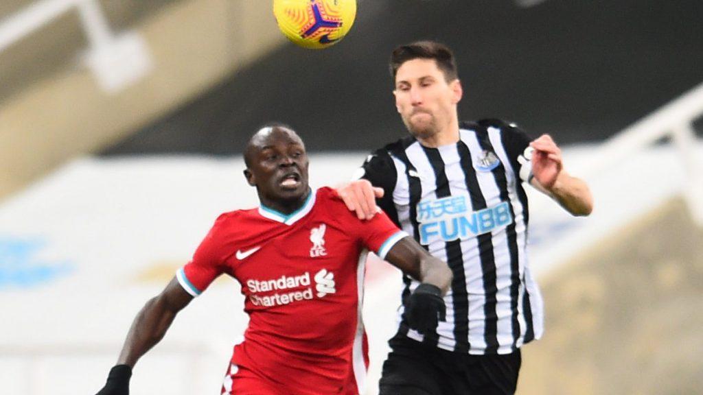 Liverpool empató con Newcastle