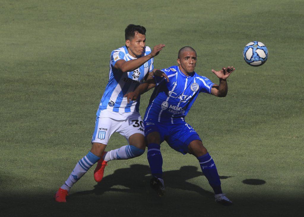 Racing goleó a Godoy Cruz