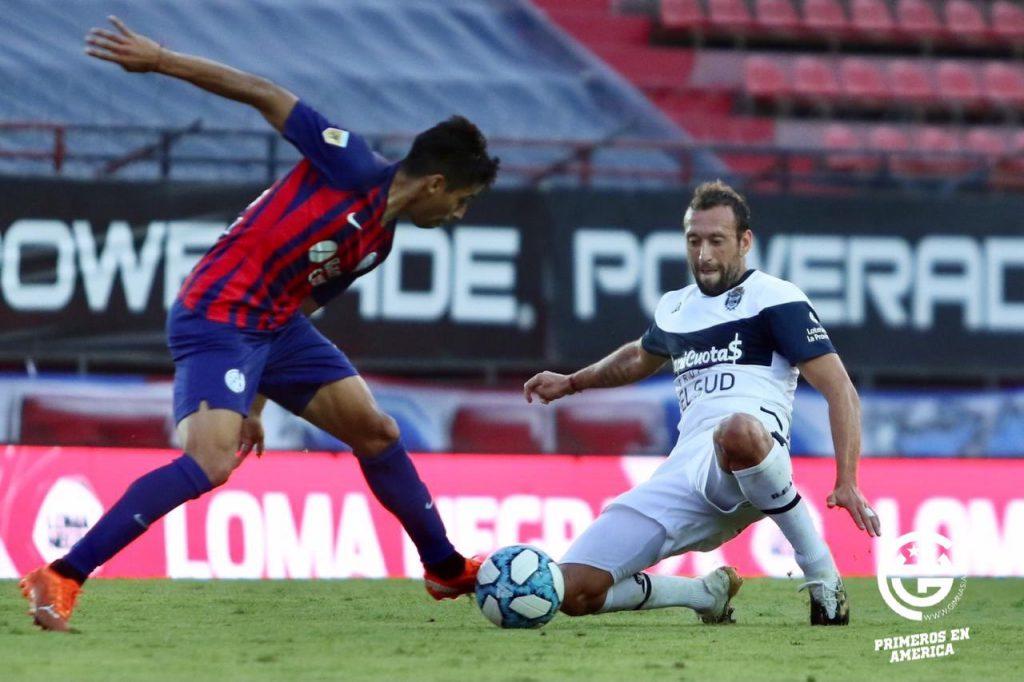 San Lorenzo empató con Gimnasia