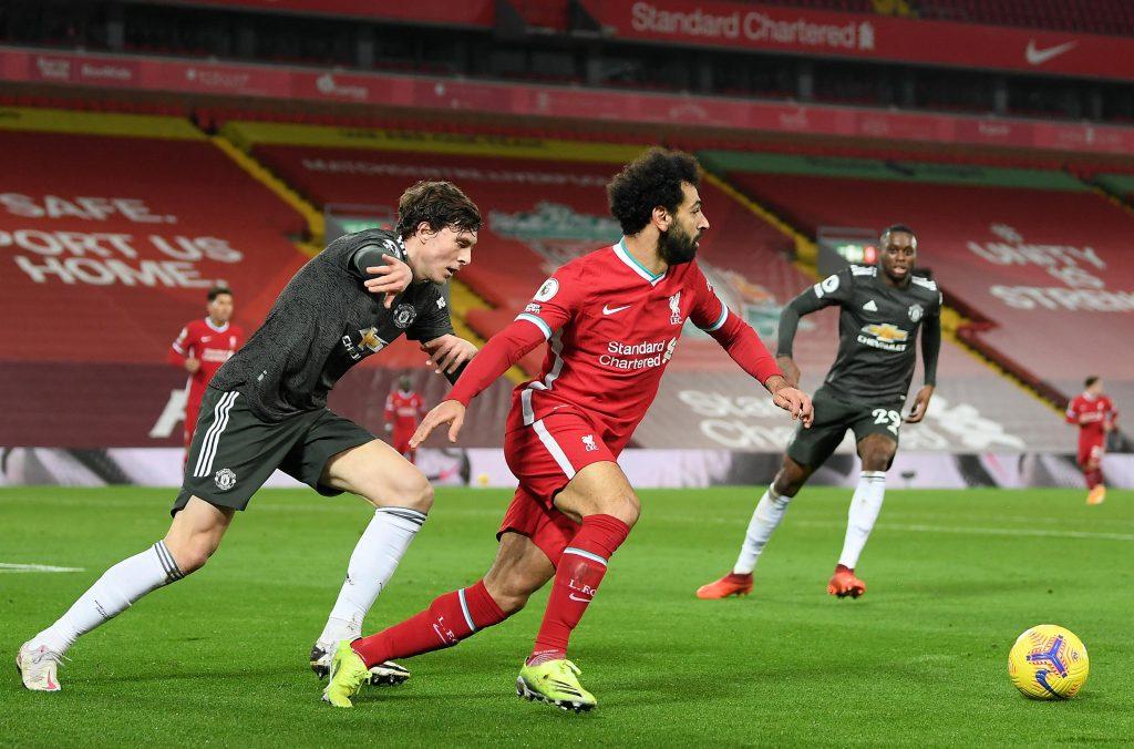 Liverpool empató con Manchester United