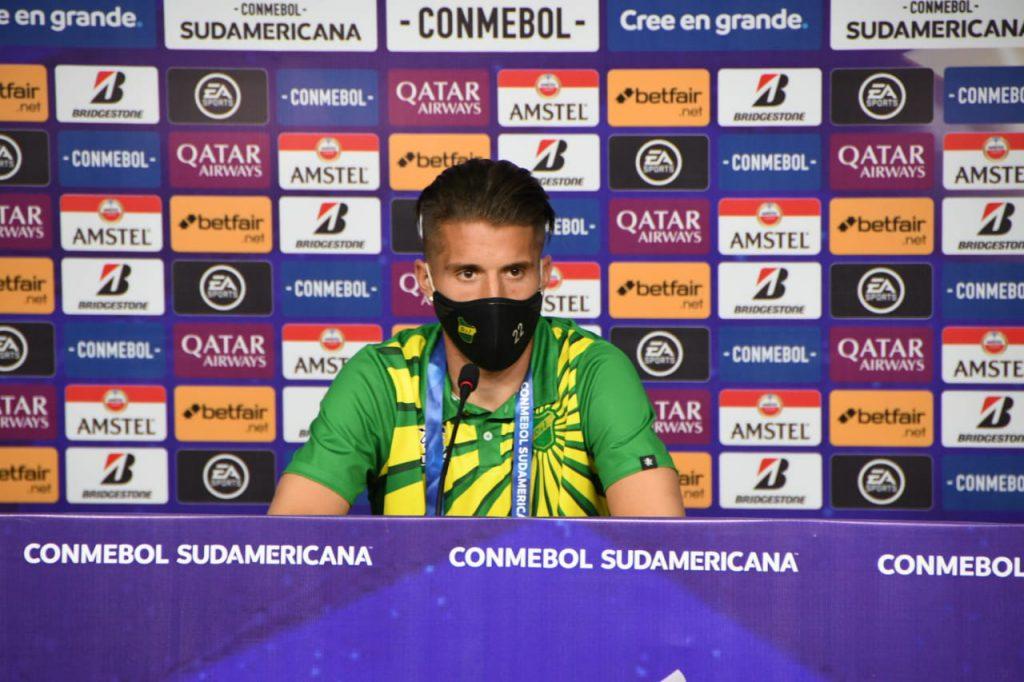 Unsain habló en conferencia de prensa