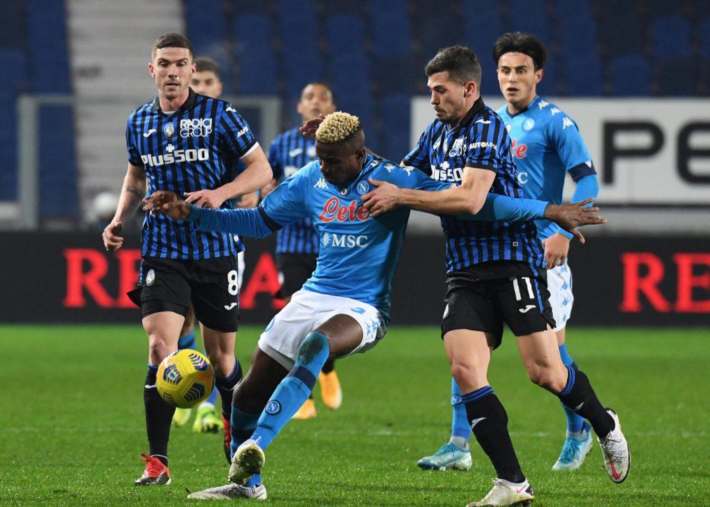 Atalanta le ganó a Napoli