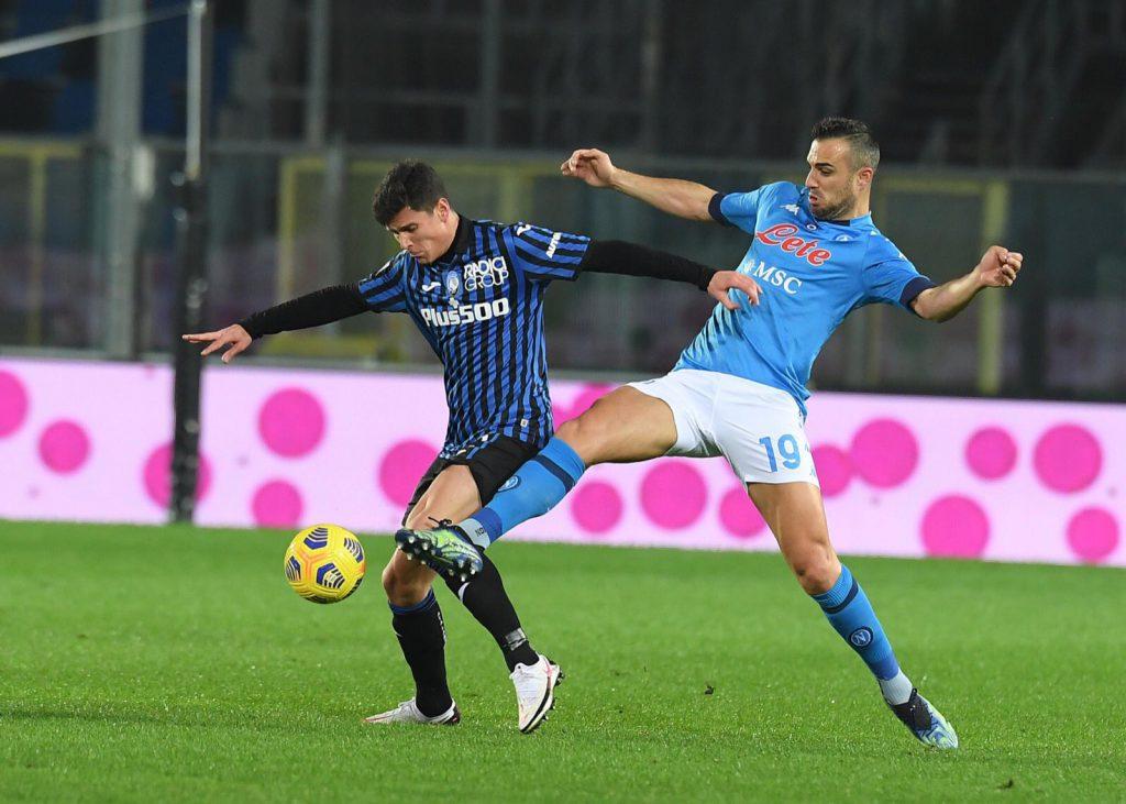 Atalanta goleó a Napoli