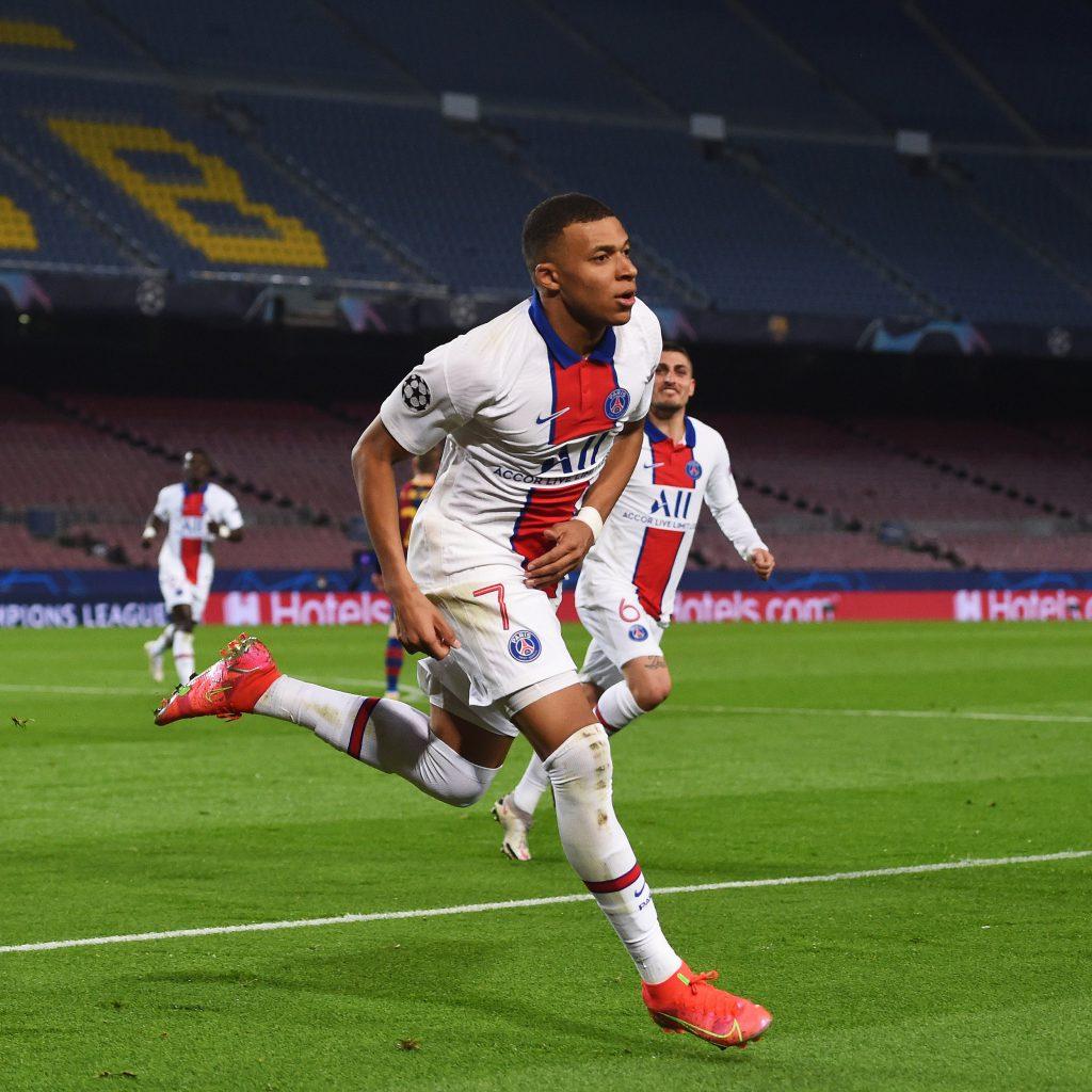 PSG goleó a Barcelona