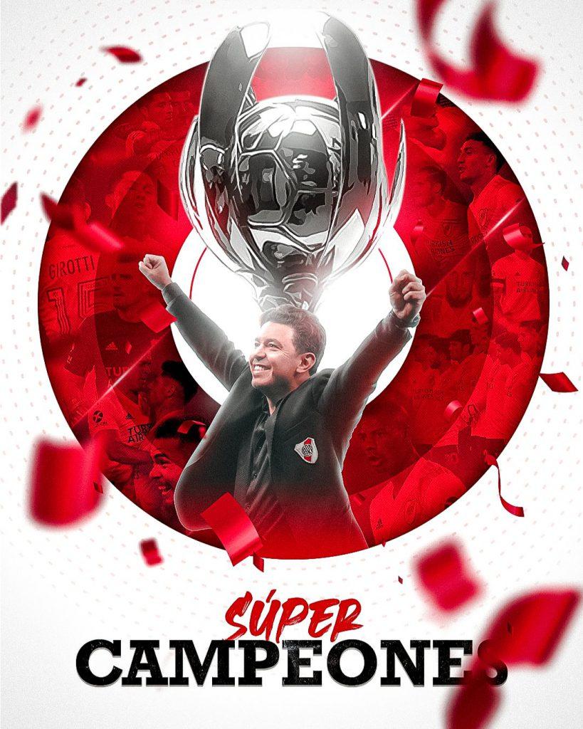 Gallardo y la Supercopa