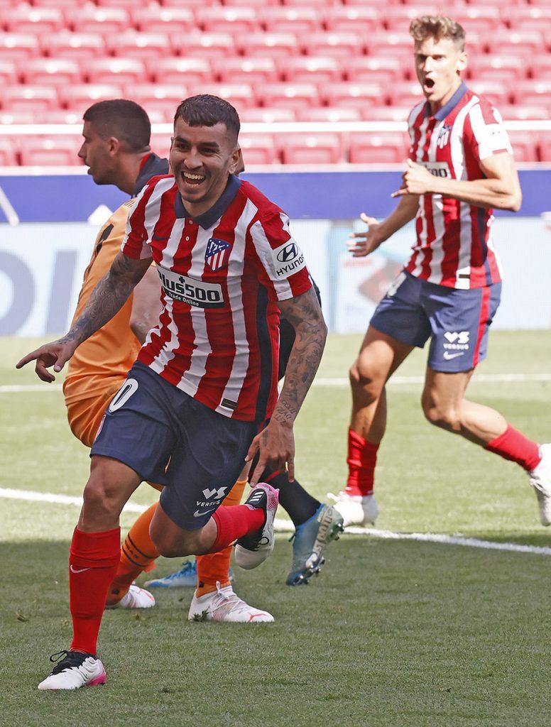 Gol de Ángel Correa