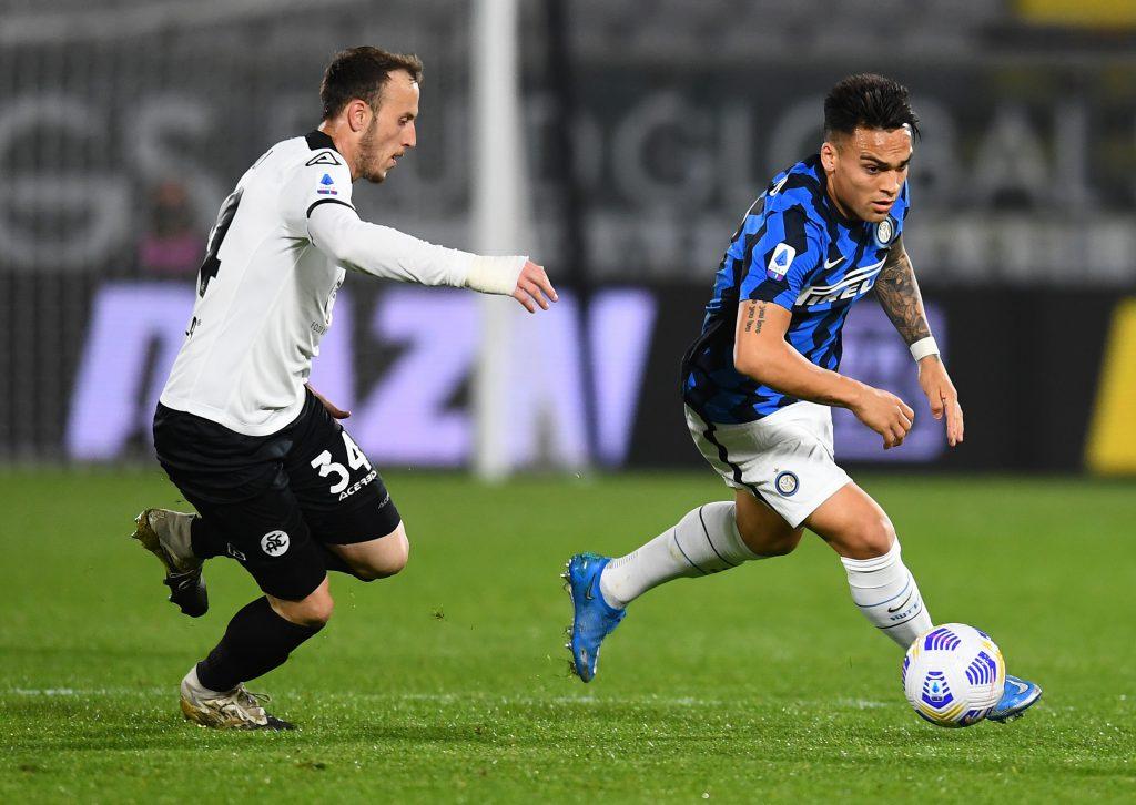 Inter empató con Spezia