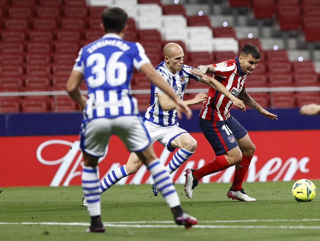 Ganó Atlético de Madrid