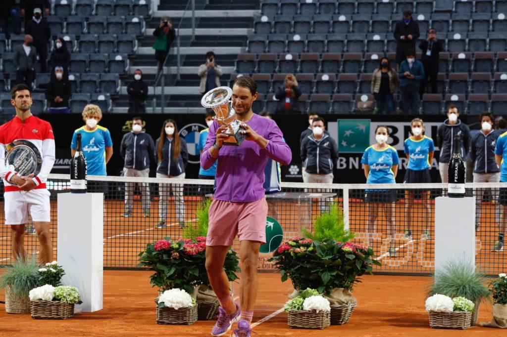 Nadal campeón en Roma