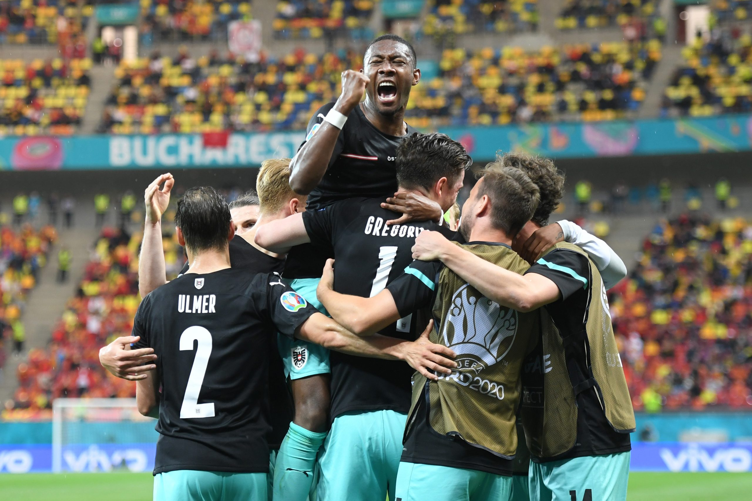 Ganó Austria en la Eurocopa
