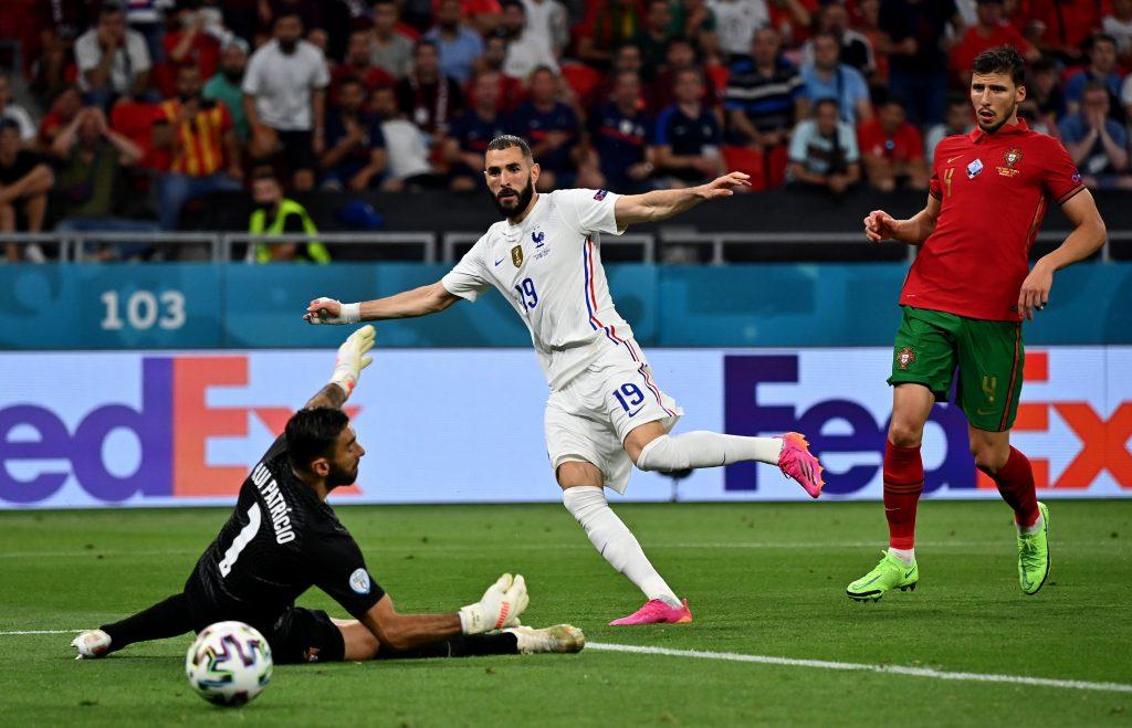 Francia empató con Portugal
