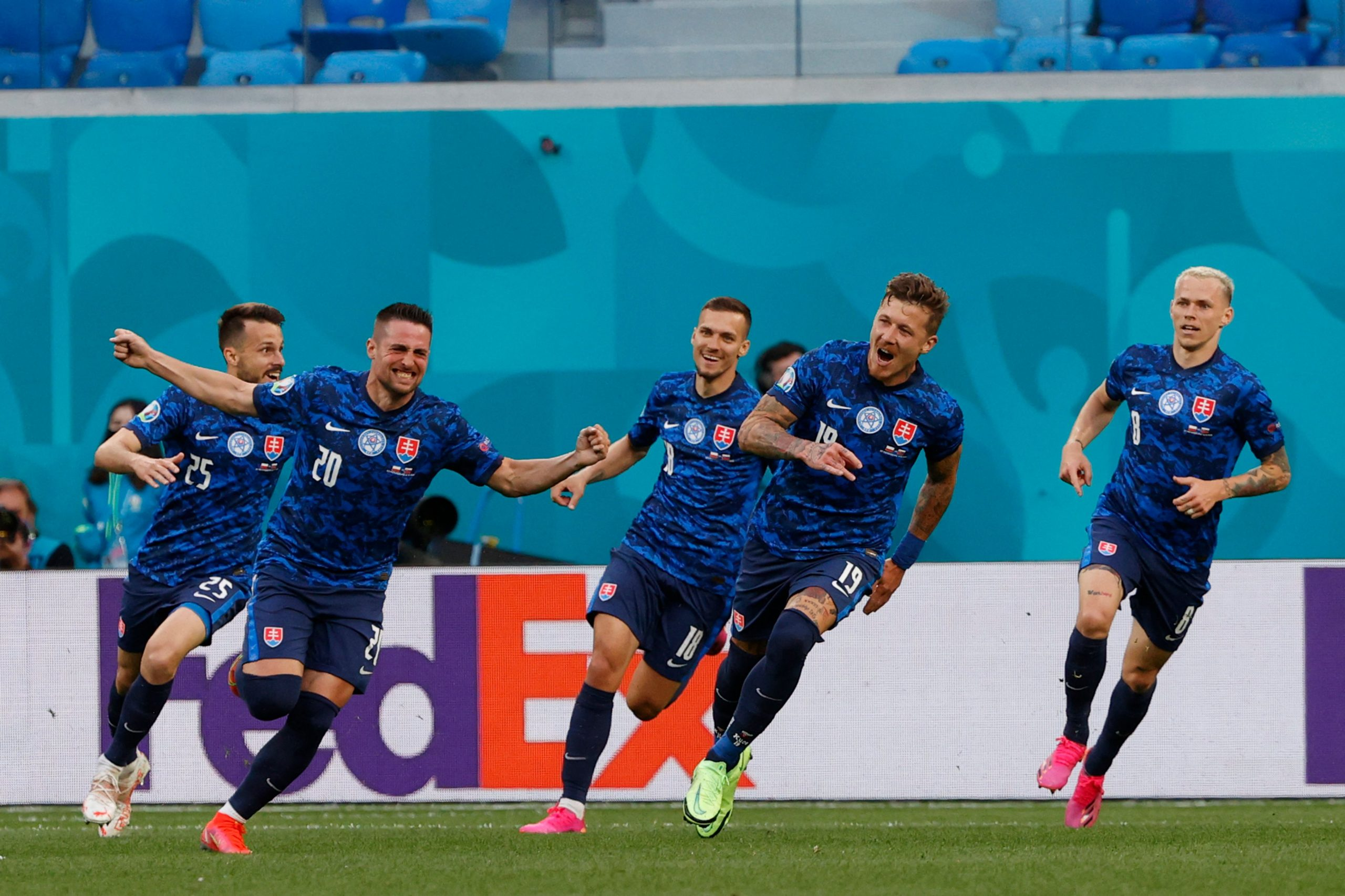 Ganó Eslovaquia