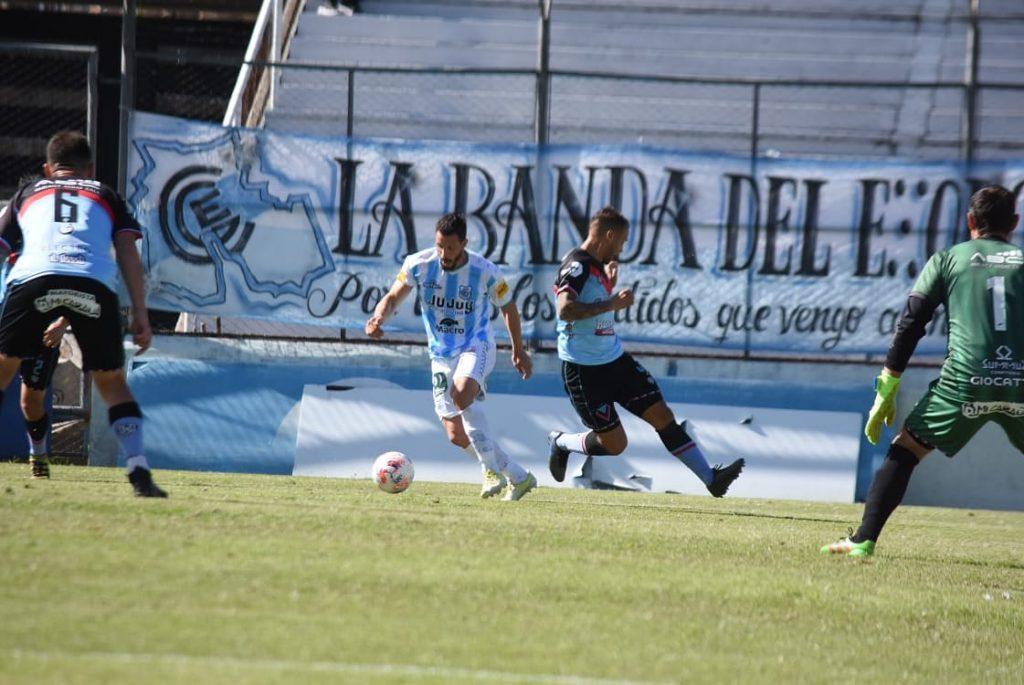 Gimnasia de Jujuy empató con Brown de Adrogué