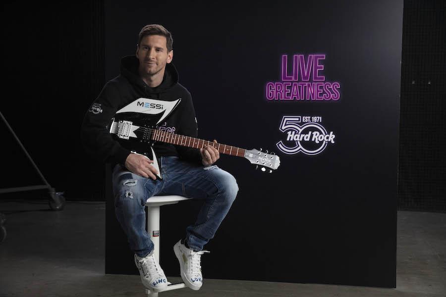 Messi embajador de Hard Rock