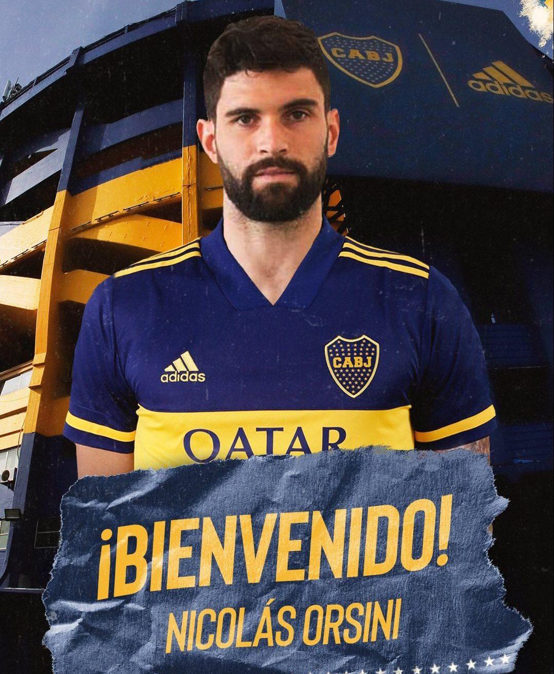 Nicolás Orsini se sumó a Boca