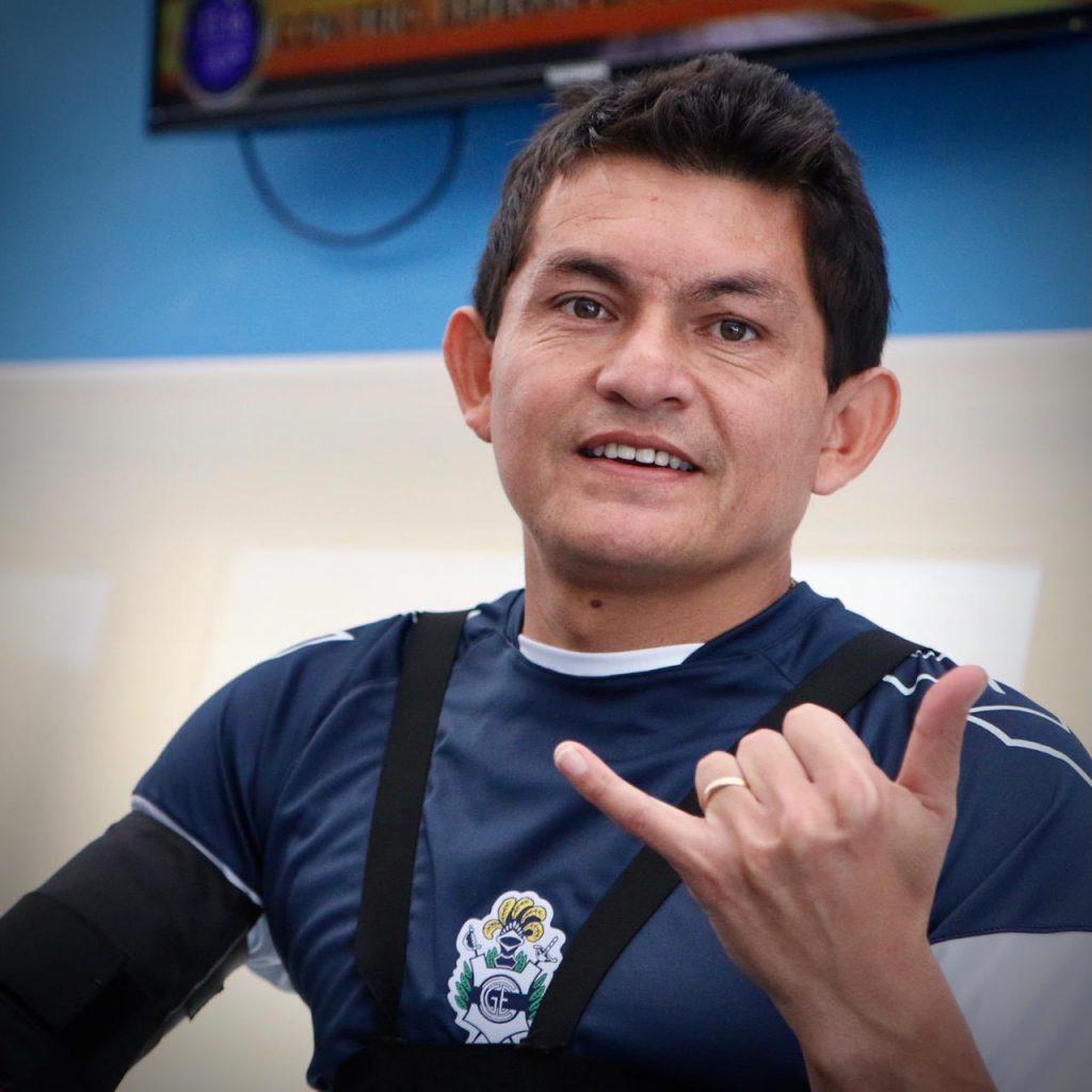 Luis Rodríguez se sumó a Gimnasia