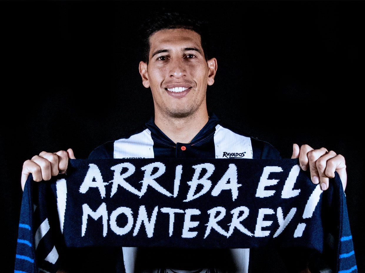 Andrada fue presentado en Monterrey
