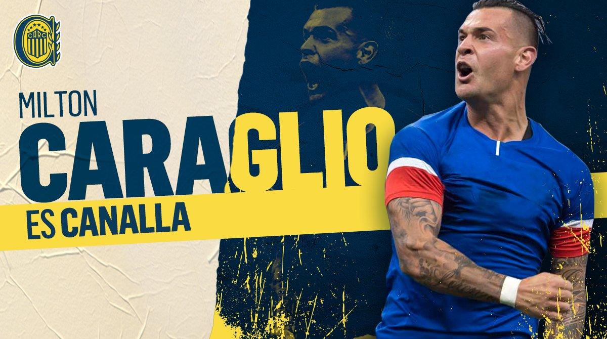 Caraglio volvió a Rosario Central