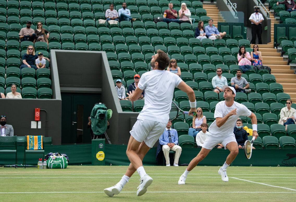 Zeballos finalista de Wimbledon